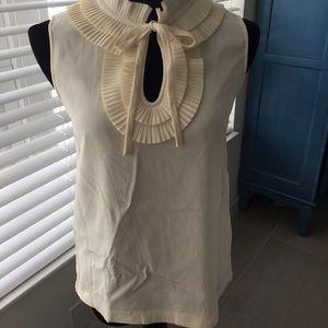 Kate Spade ♠️ Ruffle Shirt